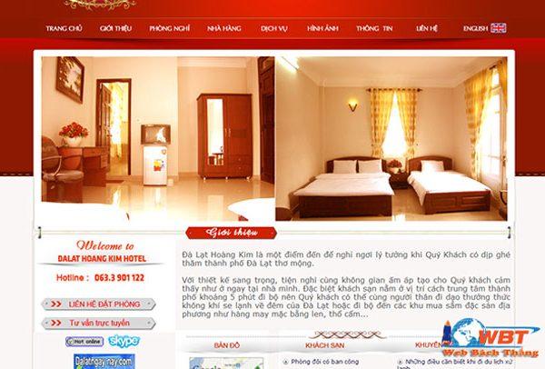 Thiết Kế Website Khách Sạn Chuyên Nghiệp đẳng Cấp Nhất