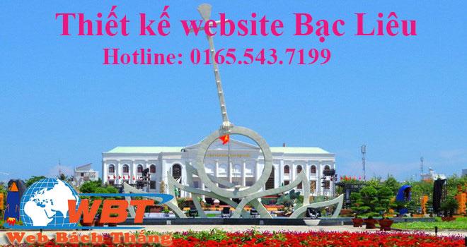 Thiết Kế Website Bạc Liêu