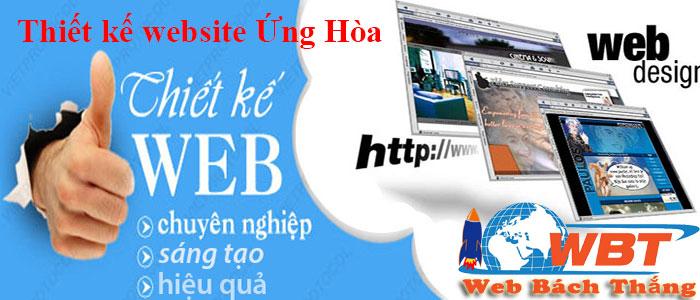 thiết kế website tại ứng hòa