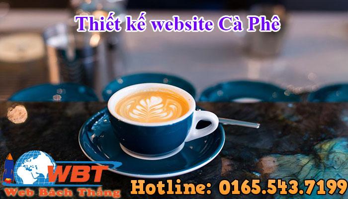 Thiết Kế Website Cà Phêthiết Kế Website Cà Phê