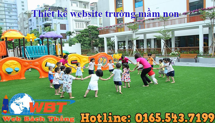 Thiết Kế Website Trường Mầm Non