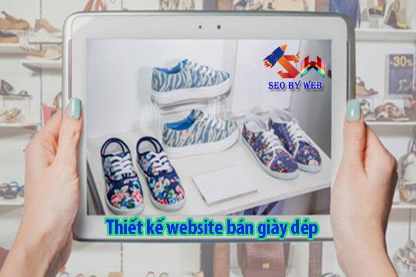 Thiết Kế Website Bán Giày Dép Chuẩn Seo Chuẩn Di Động