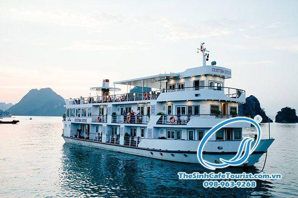 Tour Du Lịch Du Thuyền Cristina Diamond Cruise 2 Ngày 1 đêm