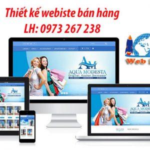 Dịch Vụ Thiết Kế Website Bán Hàng Online Chuẩn Seo Chuyên Nghiệp