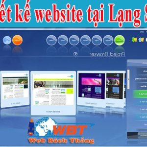 Thiết Kế Website Tại Lạng Sơn Chuyên Nghiệp