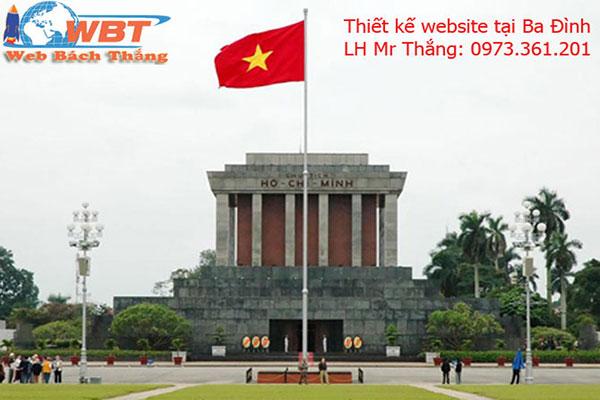 thiết kế website tại ba đình