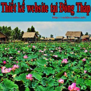 Thiết Kế Website Tại Đồng Tháp Giá Rẻ