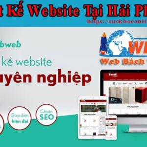 Thiết Kế Website Tại Hải Phòng Giá Rẻ