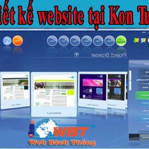 Thiết Kế Website Tại Kon Tum Chất Lượng