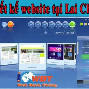 Thiết Kế Website Tại Lai Châu Uy Tín