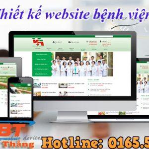 Thiết Kế Website Bệnh Viện
