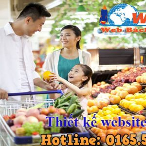 Thiết Kế Website Siêu Thị