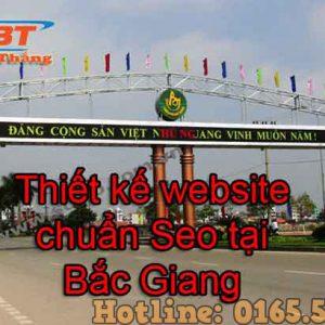 Thiết Kế Website Tại Bắc Giang Chuyên Nghiệp Giá Rẻ Uy Tín