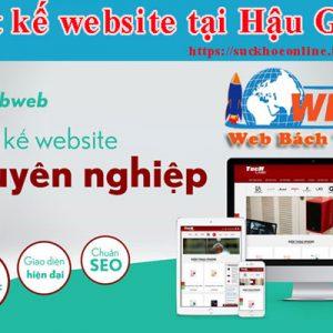 Thiết Kế Website Tại Hậu Giang ấn Tượng
