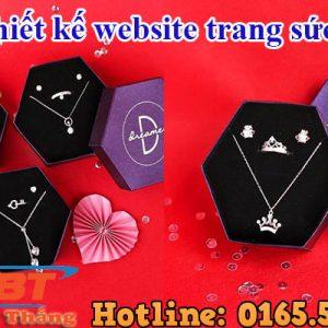 Thiết Kế Website Trang Sức