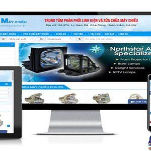 Thiết Kế Website Bán Máy Chiếu Chất Lượng Uy Tín