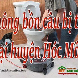 Thông Bồn Cầu Bị Tắc Tại Huyện Hóc Môn Giá Rẻ, Bt Online