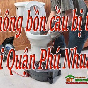 Thông Bồn Cầu Bị Tắc Tại Quận Phú Nhuận Giá Rẻ BT Online