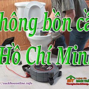 Thông Bồn Cầu Tại Hồ Chí Minh Giá Rẻ, Chuyên Nghiệp BT Online