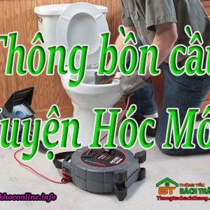 Thông Bồn Cầu Huyện Hóc Môn Giá Rẻ, Chuyên Nghiệp BT Online