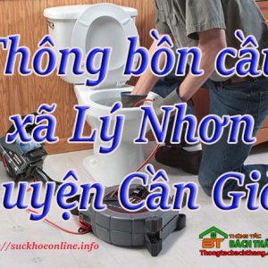 Thông Bồn Cầu Xã Lý Nhơn, Huyện Cần Giờ Giá Rẻ BT Online