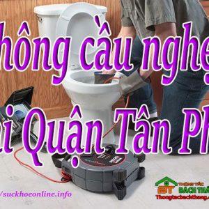 Thông Cầu Nghẹt Tại Quận Tân Phú Giá Rẻ, Bt Online
