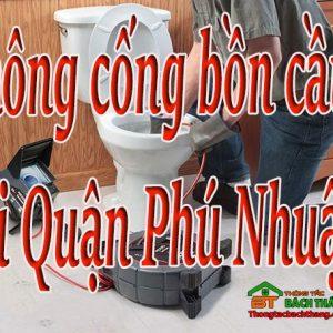 Thông Cống Bồn Cầu Tại Quận Phú Nhuận Giá Rẻ, Bt Online