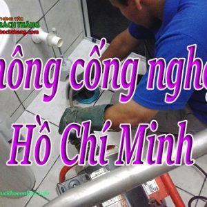 Thông Cống Nghẹt Tại Hồ Chí Minh Giá Rẻ BT Online