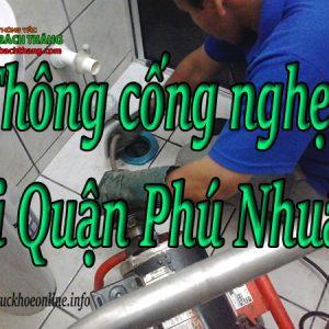 Thông Cống Nghẹt Tại Quận Phú Nhuận Giá Rẻ BT Online
