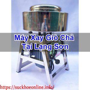 Máy Xay Giò Chả Tại Lạng Sơn