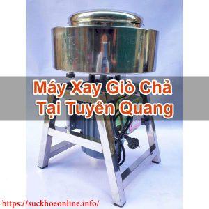 Máy Xay Giò Chả Tại Tuyên Quang