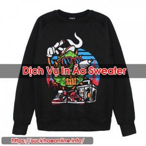 In Áo Sweater
