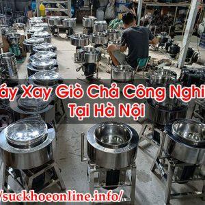 Máy Xay Giò Chả Công Nghiệp Tại Hà Nội