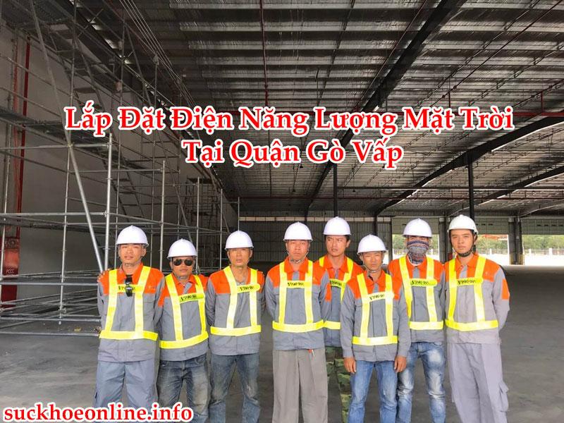 Lắp Đặt Điện Năng Lượng Mặt Trời Tại Quận Gò Vấp