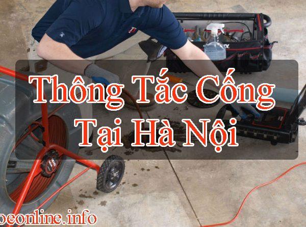 Thông Tắc Cống Tại Hà Nội Chuyên Nghiệp 24/7 – Sức Khỏe Online BT